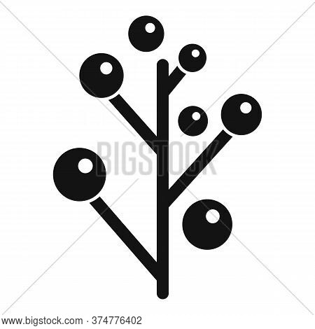 Branch Plant Herb Icon. Simple Illustration Of Branch Plant Herb Vector Icon For Web Design Isolated