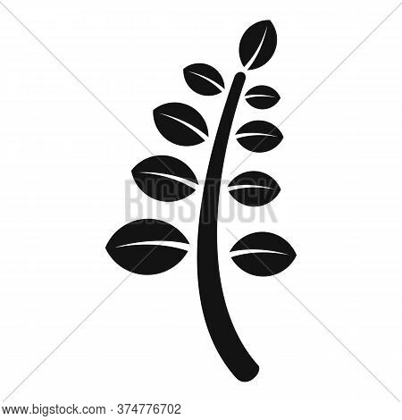 Pestle Herb Plant Icon. Simple Illustration Of Pestle Herb Plant Vector Icon For Web Design Isolated