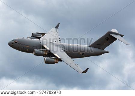 Avalon, Australia - February 28, 2015: Royal Australian Air Force (raaf) Boeing C-17a Globemaster Ii