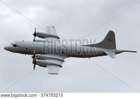 Avalon, Australia - February 28, 2015: Royal Australian Air Force (raaf) Lockheed Ap-3c Orion Mariti