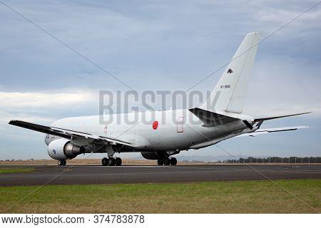 Avalon, Australia - February 28, 2015: Japan Air Self-defense Force (jasdf) Boeing Kc-767j Aerial Ta