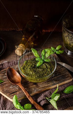 Pesto With Nuts And Basil