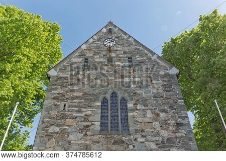 Stavanger Cathedral In Stavanger Is Norway's Oldest Cathedral