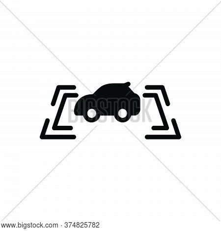 Black Solid Icon For Parking-sensor Parking Sensor Safeness Vehicle Stabilizer Autonomous Camera