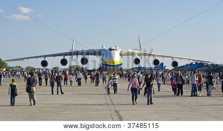 antonov An-225 Transport Aircraft During