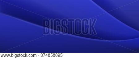 Abstract Background In Blue Colors. Vector Illustration