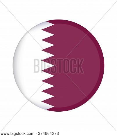 National Qatar Flag, Official Colors And Proportion Correctly. National \nqatar Flag.