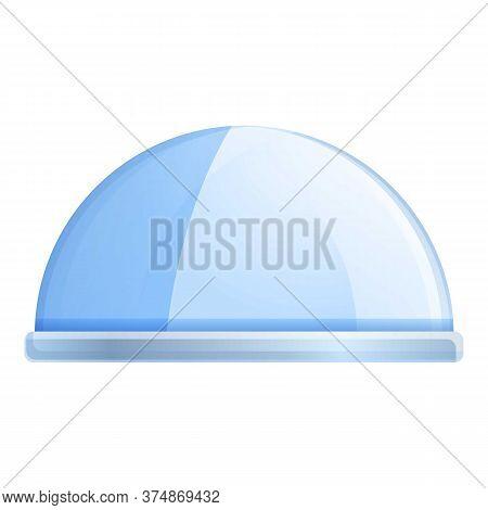 Break Protective Glass Icon. Cartoon Of Break Protective Glass Vector Icon For Web Design Isolated O