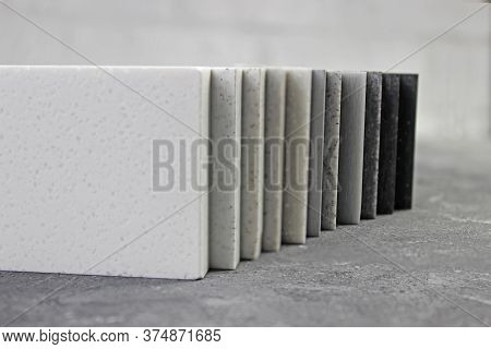 Luxury Marble Natural Stone Slabs For Kitchen Countertops And Floor Tiles. Monochrome Colors