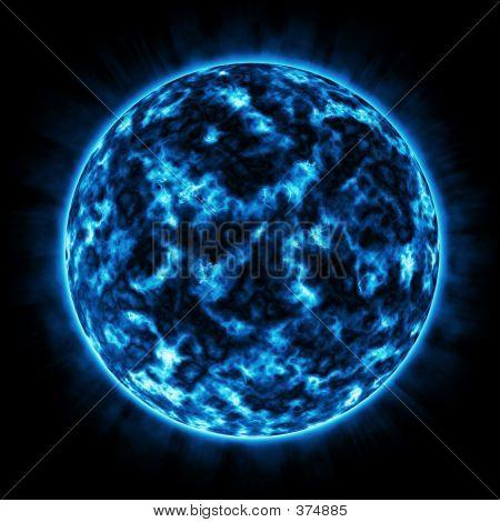 Fire Planet (blue)