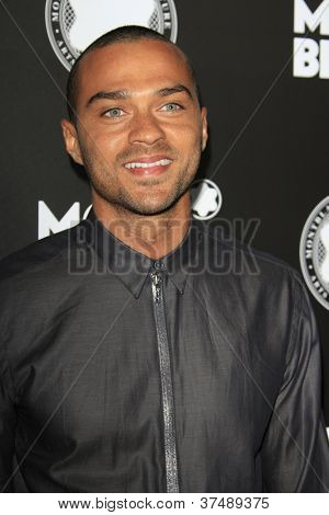 LOS ANGELES - OCT 2: Jesse Williams at the Montblanc 2012 Montblanc De La Culture Arts Gala honoring Quincy Jones at Chateau Marmont on October 2, 2012 in Los Angeles, California