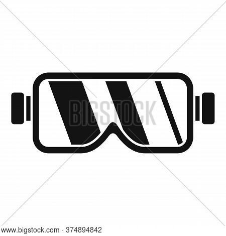 Construction Protect Glasses Icon. Simple Illustration Of Construction Protect Glasses Vector Icon F