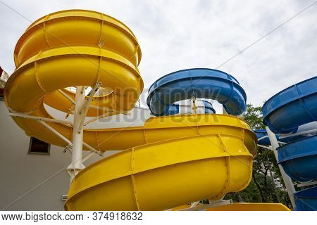 A Water Slide (flume, Water Chute) Is A Type Of Slide Designed For Warm-weather Or Indoor Recreation