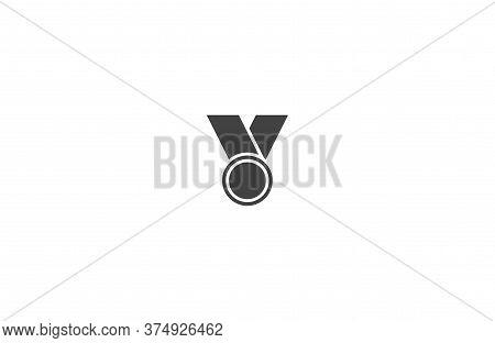 Medal Vector Icon , Lorem Ipsum Flat Design
