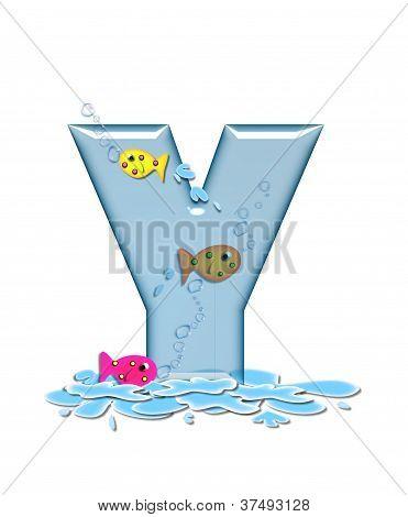 Alphabet Fish Flop Y