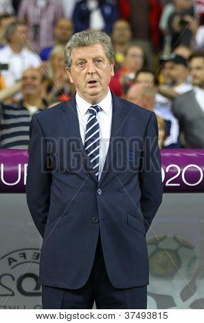 Head Coach Of England National Football Team Roy Hodgson