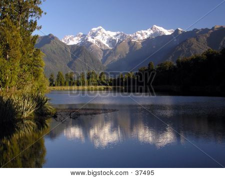 Mt. Cook Reflection