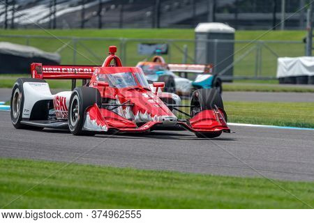 July 03, 2020 - Indianapolis, Indiana, USA: MARCUS ERICSSON (8) of Kumla, Sweden  practices for the GMR Grand Prix at the Indianapolis Motor Speedway in Indianapolis, Indiana.
