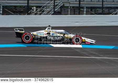 July 03, 2020 - Indianapolis, Indiana, USA: TAKUMA SATO (30) of Tokyo, Japan practices for the GMR Grand Prix at the Indianapolis Motor Speedway in Indianapolis, Indiana.