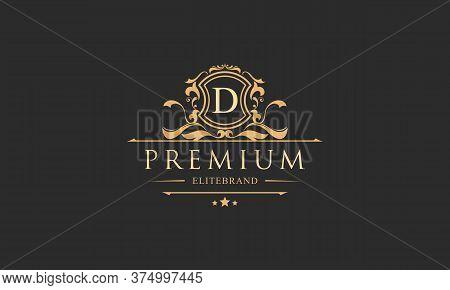 Luxury Monogram Logo Template Object Logo Vector