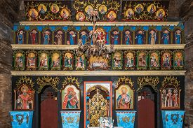 Bardejov,slovakia - June 10,2020 - View At The Interior Of Wooden Church Of St.nicholas From Mikulas