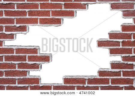 Broken Brick Wall