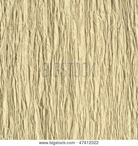 Pale yellow goffered paper texture