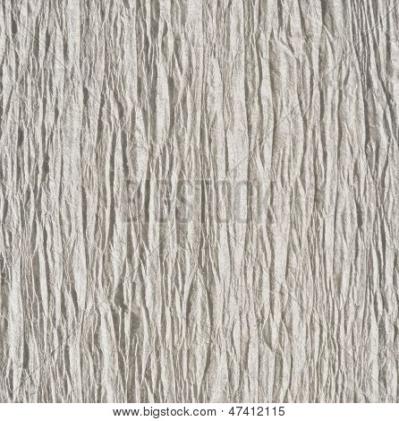 White (gray) goffered paper texture