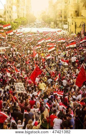Egyptian Demonstration Against Muslim Brotherhood