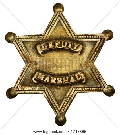 Authentic Deputy Marshall Badge