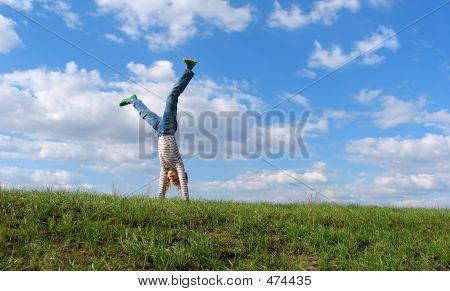 Summer Cartwheel