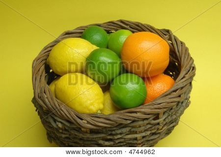 Basket Of Citrus