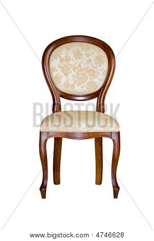 Old-style Chair Isolated