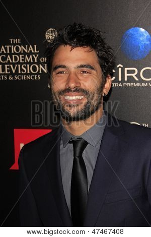 BEVERLY HILLS - JUN 16: Ignacio Serricchio at the 40th Annual Daytime Emmy Awards at The Beverly Hilton Hotel on June 16, 2013 in Beverly Hills, California