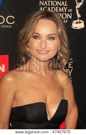 BEVERLY HILLS - JUN 16: Giada De Laurentiis at the 40th Annual Daytime Emmy Awards at The Beverly Hilton Hotel on June 16, 2013 in Beverly Hills, California