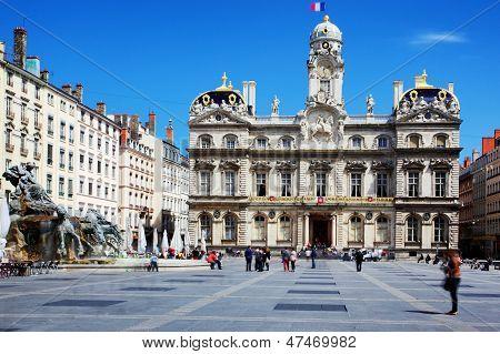 Famous Terreaux Square