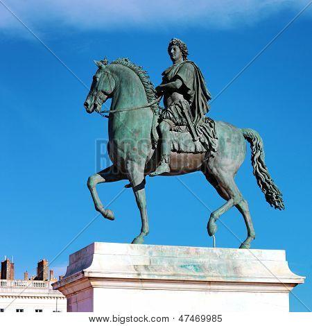 Equestrian Statue Of Louis Xiv