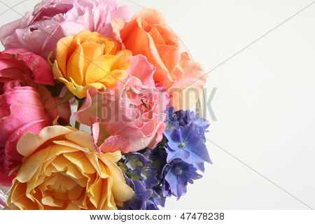 Summer Bouquet Background