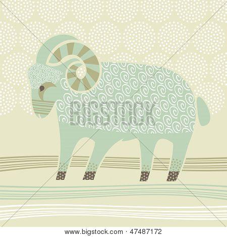 Decorative Ram