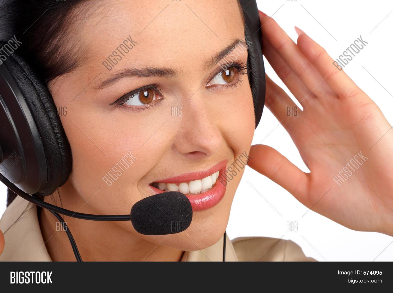 Business Woman Phone Image Photo Free Trial Bigstock