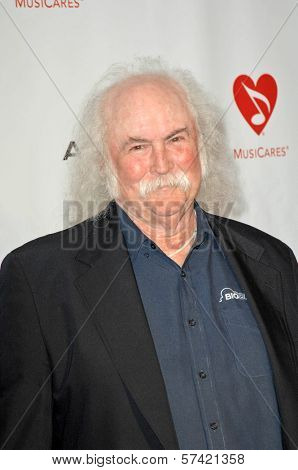 David Crosby at the 2010 MusiCares Person Of The Year Tribute To Neil Young,  Los Angeles Convention Center, Los Angeles, CA. 01-29-10