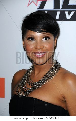 Toni Braxton at The Recording Academy and Clive Davis Present The 2010 Pre-Grammy Gala - Salute To Icons, Beverly Hilton Hotel, Beverly Hills, CA. 01-30-10