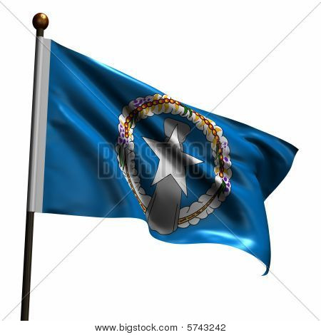 High Resolution Flag Of The Northern Mariana Islands