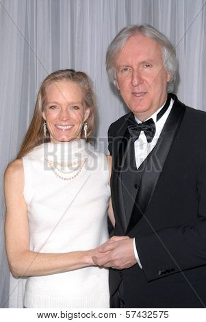 Suzy Amis and James Cameron  at the 60th Annual ACE Eddie Awards, Beverly Hilton Hotel, Beverly Hills, CA. 02-14-10