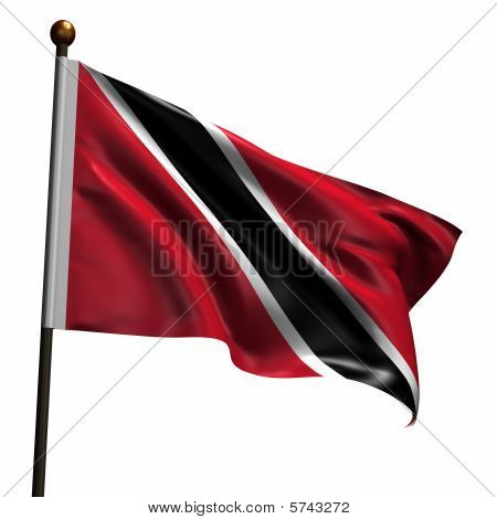 High Resolution Flag Of Trinidad And Tobago