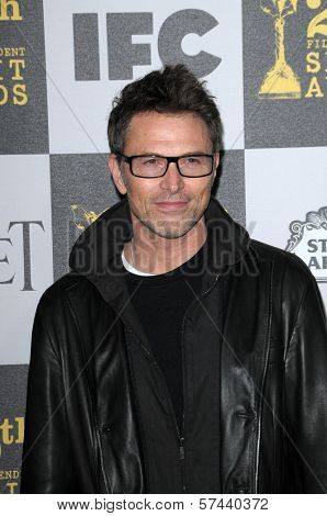 Tim Daly at the 25th Film Independent Spirit Awards, Nokia Theatre L.A. Live, Los Angeles, CA. 03-06-10