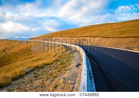 Road over the mountains