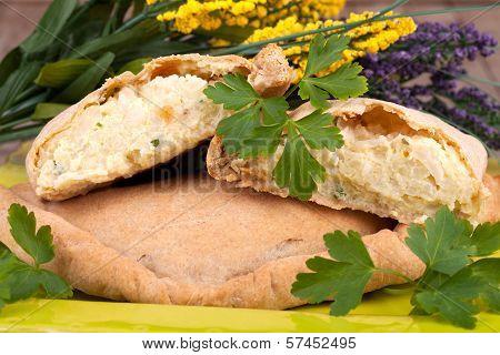 Cauliflower Calzone