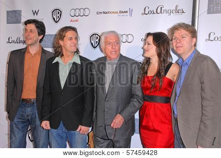 Dick Van Dyke and Ashley Brown with the Vantastics at the Geffen Playhouses Annual Fundraiser