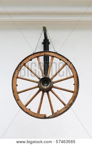 Antique Wooden Wheel